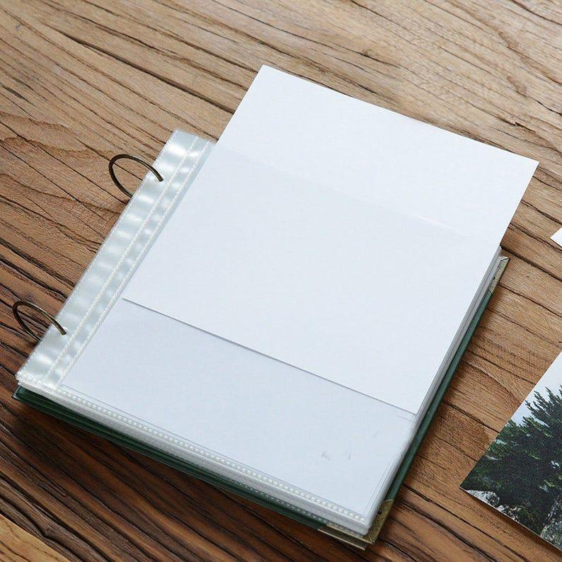 Photo Memory Book. 60 Page Baby Album. Handmade Photo