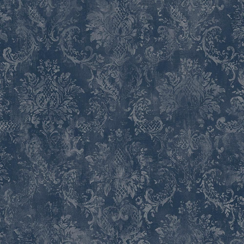 Norwall Canvas Damask Wallpaper SD36102 (With images