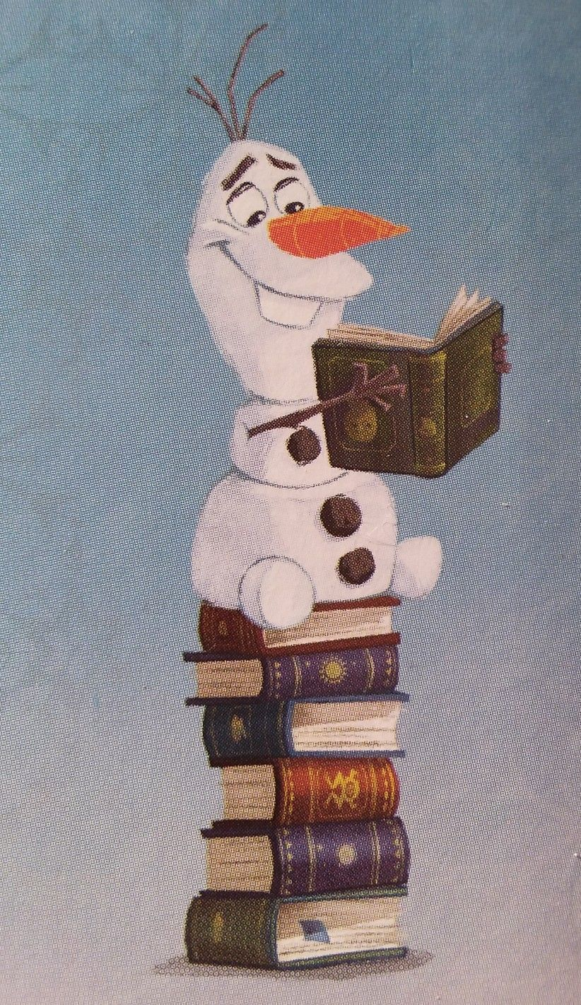 Frozen 244 olaf and the books  Cute disney wallpaper, Frozen 244 olaf