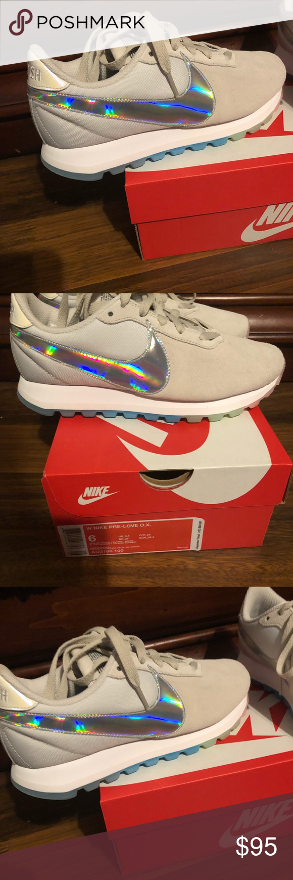 c44381d0675cd5 Nike women s Pre love O.X. Rainbow 🌈 shoes 6.5 Nike women s size 6.5  Rainbow 🌈 O.X tennis shoes only tried on purchased last month