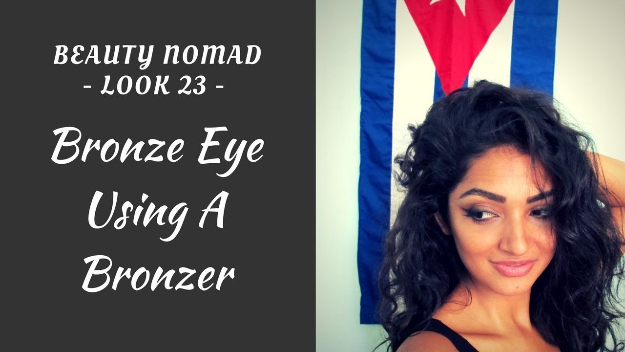 Photo of How to do Simple Bronze Eye Makeup Tutorial- Using a Bronzer!