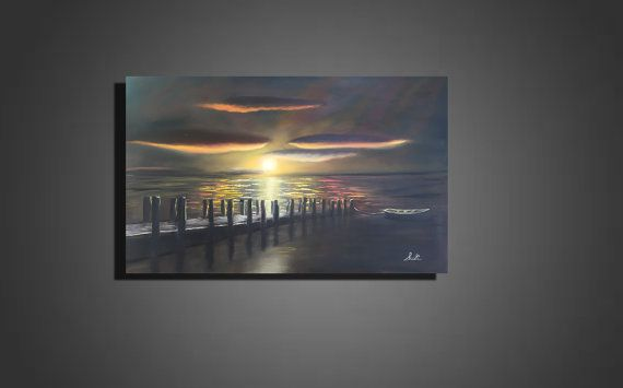 36 x 24 x 1.5 Original Oil Painting Large Canvas by SusiUhlArt
