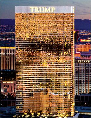 Las Vegas Luxury Real Estate: Donald J Trump Organization Las Vegas NV Luxury Real Estate Condominiums Residential Resort Hotel Property