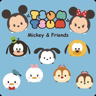 Krafty Nook Google Mickey And Friends Tsum Tsum Mickey Disney Scrapbook