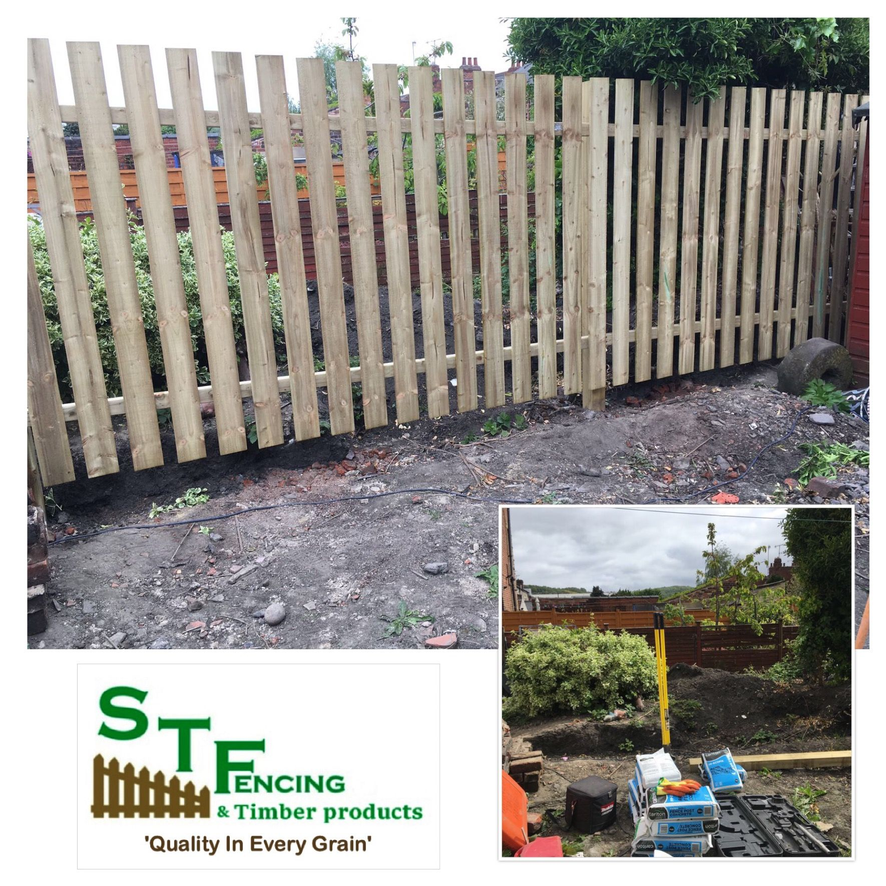 Quality Fence Panels And Bespoke Sizes Tanalised Timber Timber