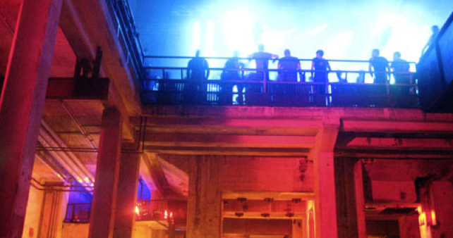 Berghain Nightclub in Berlin - rated one of the best clubs in the world according to the NYTimes