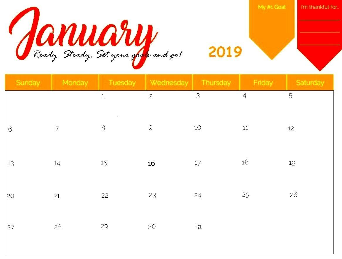January 2019 Calendar Canada Excel Calendar Excel Calendar