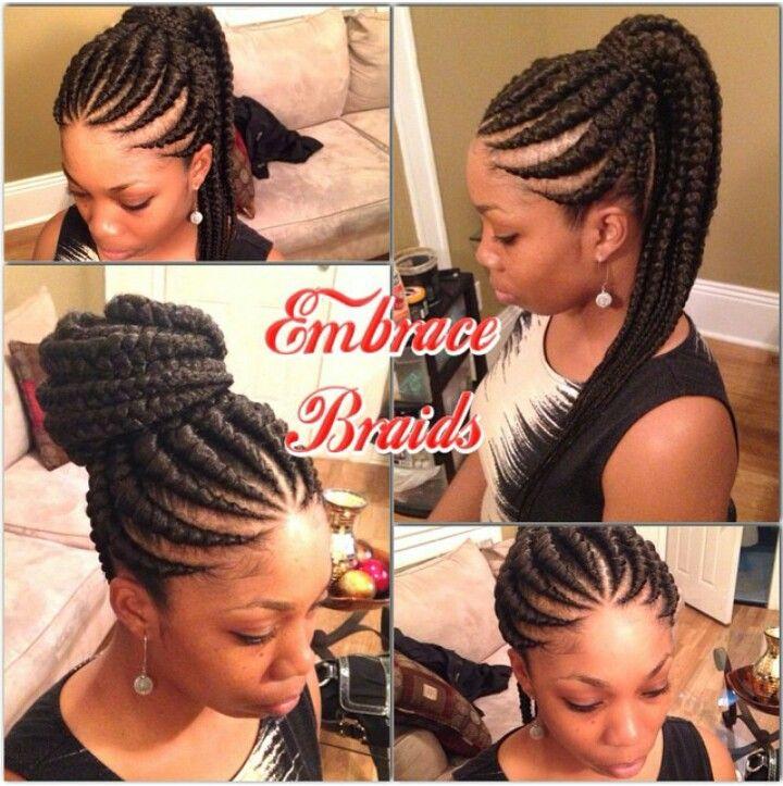 Ghana Ponytail Hair Styles African Hairstyles African Braids Hairstyles