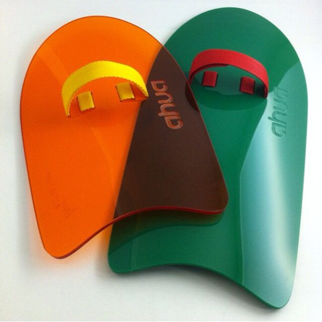 Ahua Color Series handplanes for bodysurf. Choose your colors.