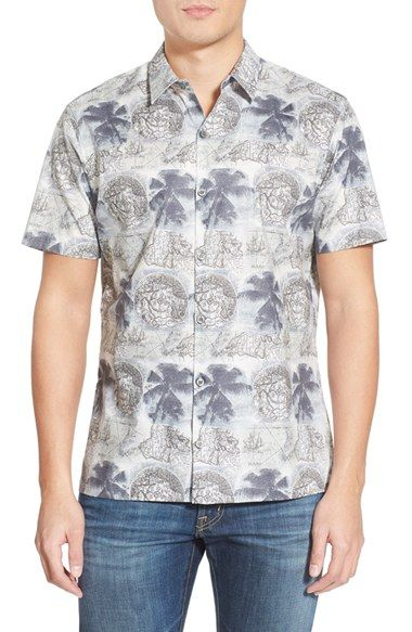 Tori Richard 'Expedition' Trim Fit Cotton Lawn Sport Shirt