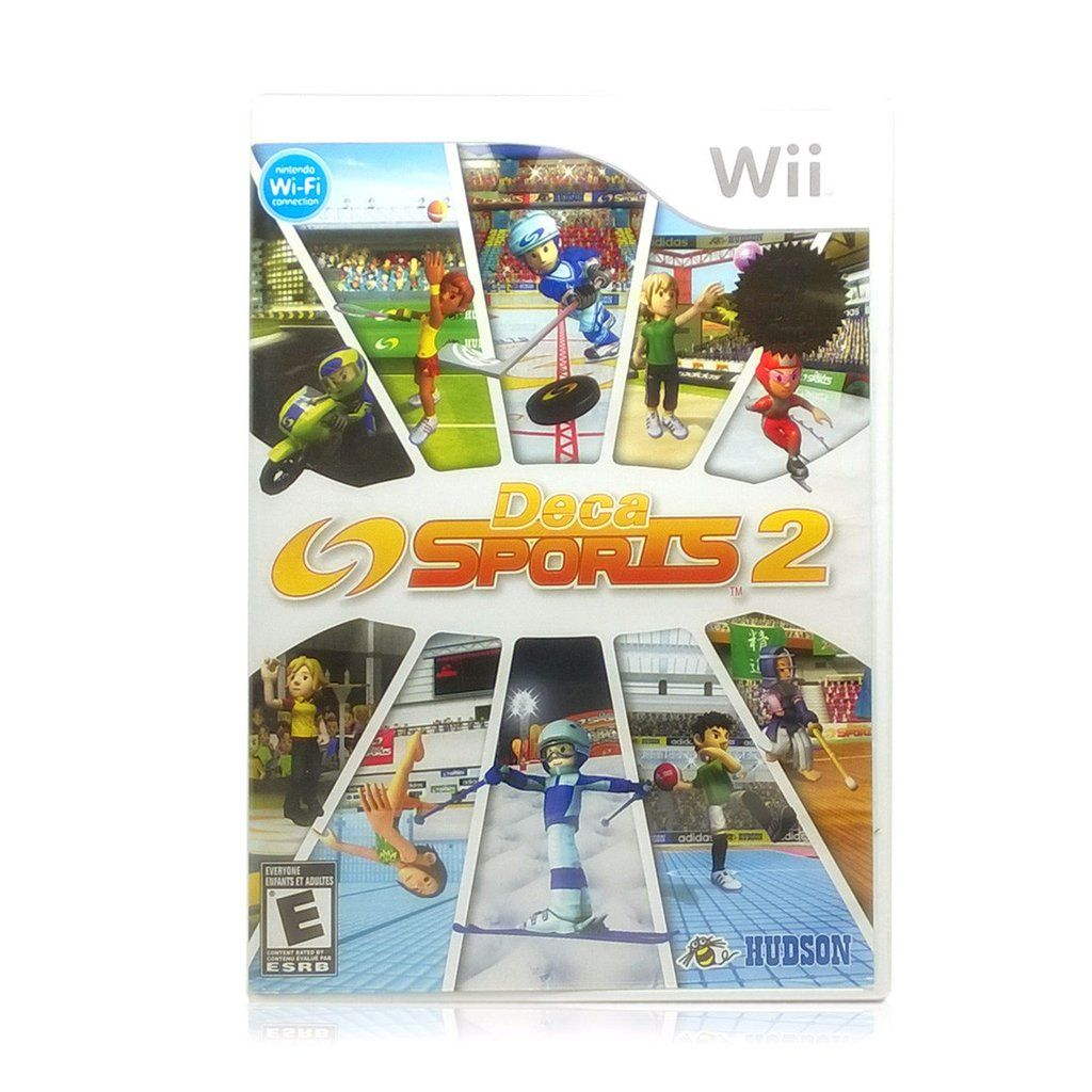 Deca Sports 2 Wii games, Sport 2, Games to play