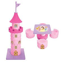 Disney Princess Castle 2-in-1 Transforming Table and 4 Chair Set ...
