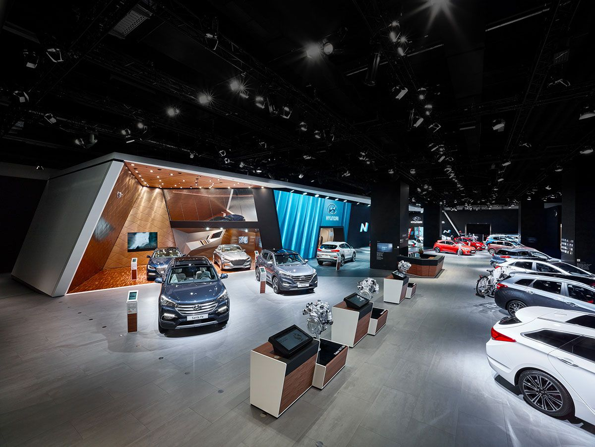 Custom Exhibition Stand Zone : In september hyundai motor company introduced its new