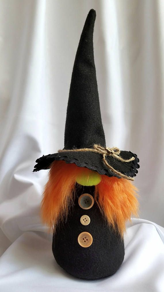 Halloween Witch Gnome Holiday Decoration 010 \ - halloween arts and crafts decorations