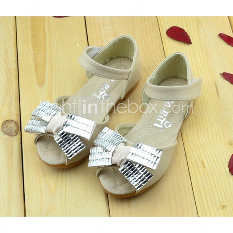 Girls Sandals Summer Comfort Pu Casual Pink White Pinterest