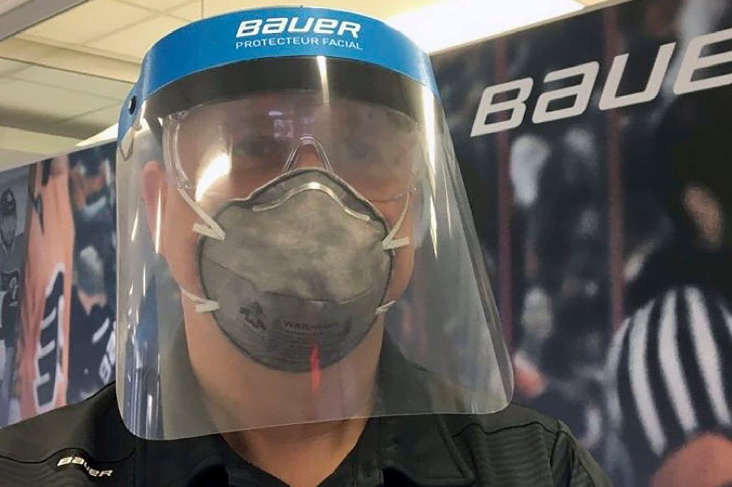 A Sports Company Started Making Medical Gear Instead Of Hockey Visors It Wants Others To Help In 2020 Hockey Equipment Hockey Visors