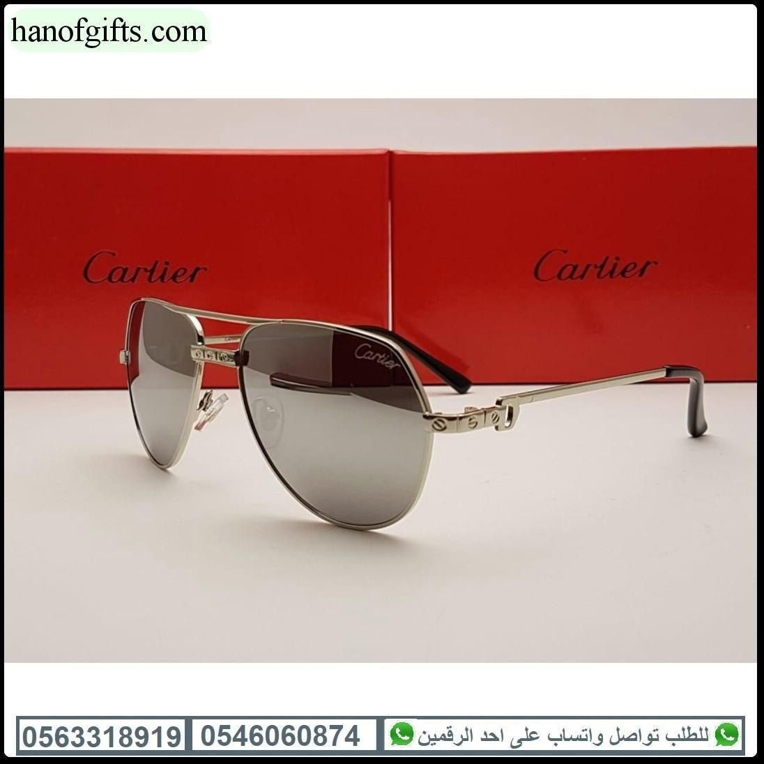 نظارات كارتير رجالي 2020 مع ملحقات الماركه كامل هدايا هنوف Square Sunglass Glasses Sunglasses