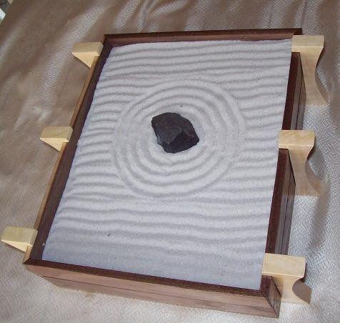 Zen Garden Box Mini Zen Garden Zen Garden Miniature Zen Garden