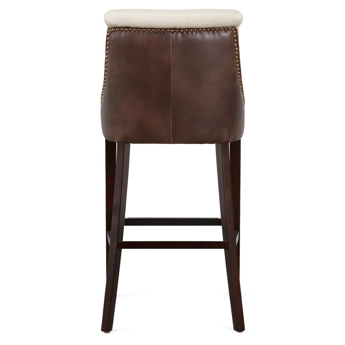 Awesome Brynn Light Beige Microfiber 30 Barstool Bar Stools Unemploymentrelief Wooden Chair Designs For Living Room Unemploymentrelieforg
