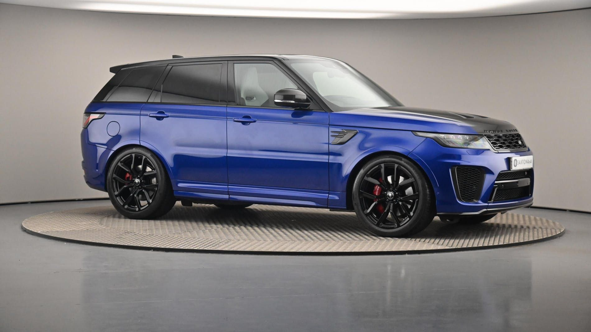 Used Land Rover Range Rover Sport S C Svr Blue For Sale Essex Ou19xcn Saxton 4x4 Range Rover Sport Used Range Rover Range Rover