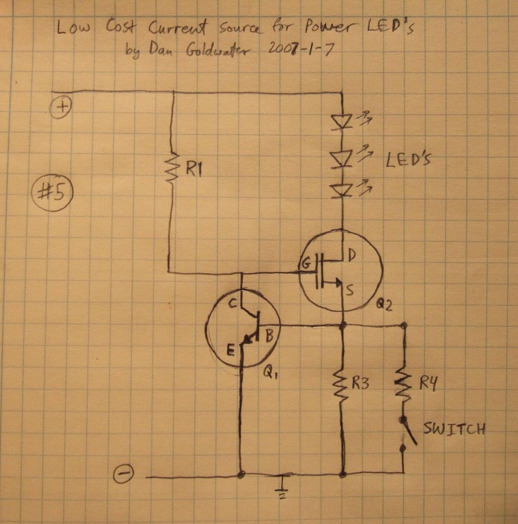 High Power Led Driver Circuits Electronics Circuit Pinterest Picture Of 12 Steps With Pictures
