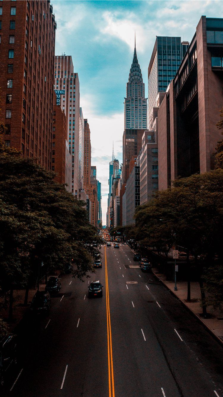 Chrysler Building New York United States iPhone X