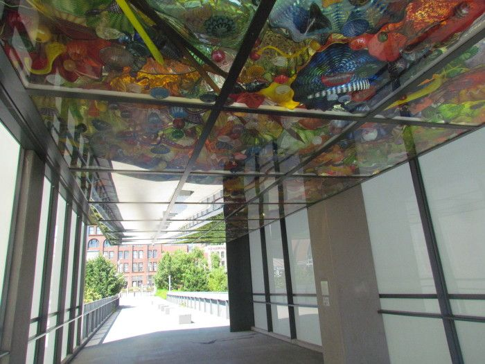 5. Admire the unique glass artwork of Dale Chihuly at the Bridge of Glass in Tacoma!