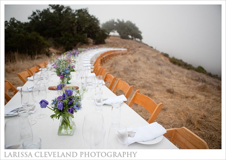 larissa cleveland, photography, jenny, max, big sur, wedding, destination, rancho rico, allison weddings, san francisco, outstanding in the field, ocean, cliff, fog, creative, image, ceremony, redwood, horse, deetjens, ventana, hunt littlefield, neil hunt, california, barn, reception