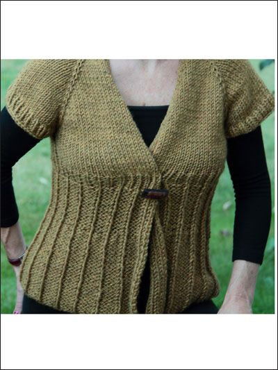 Knitting Patterns For Wearables Baby Doll Cardigan This