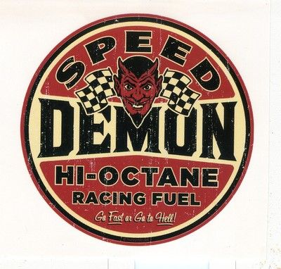 2-PACK RAT FINK RAT ROD HOT ROD STICKER  MOTORCYCLE TOOL BOX RACING OIL GAS
