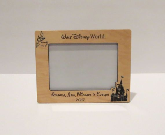 Walt Disney World 5x7 or 8x10 (Your Choice) Picture Frame ...