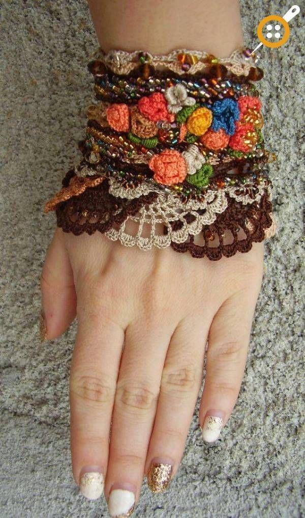 Photo of Strick-Schmuck-Modelle – Strick-Armband-Modelle  #armband #knittingmodelideas #m…
