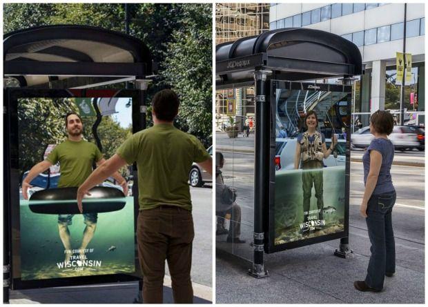 Bien-aimé 25 campagnes de publicité créatives sur des abribus OJ29