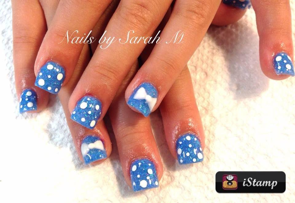 Acrylic overlay kids nails | Nails By Sarah | Pinterest | Kid nails ...