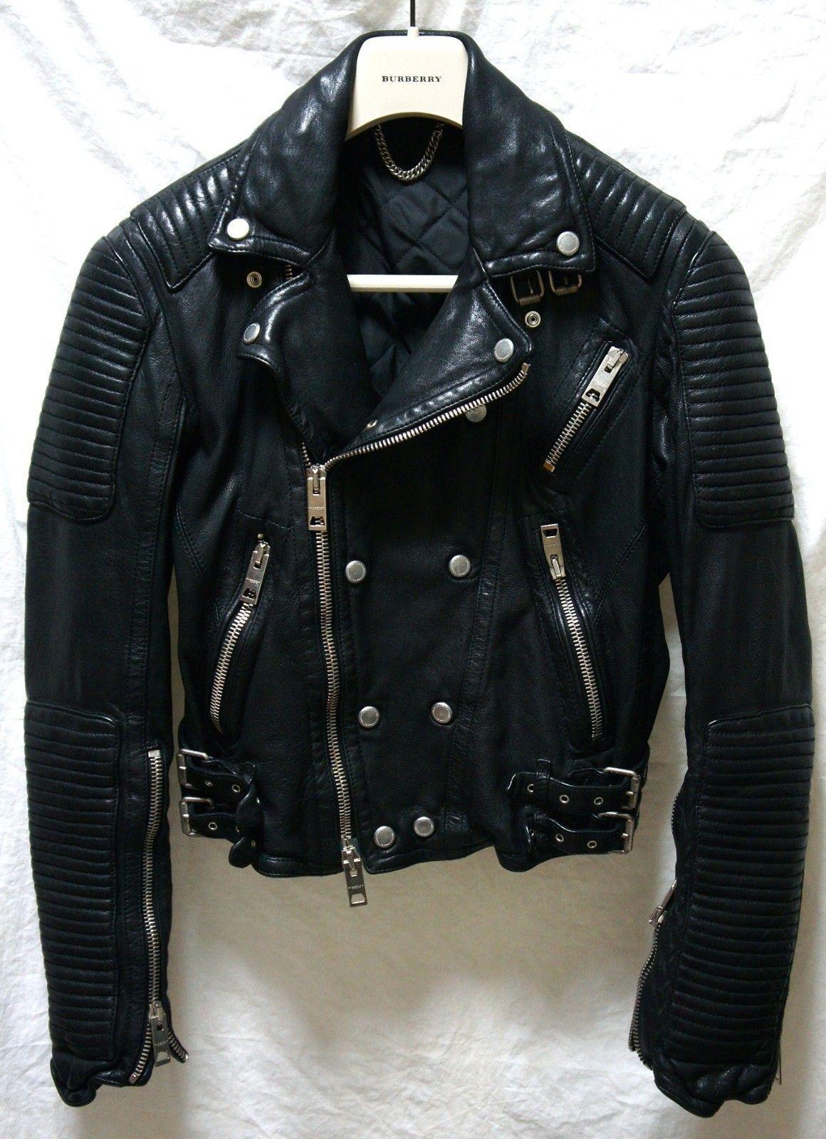 Burberry Prorsum Biker Jacket Leather Jacket Biker Jacket Style Leather Jacket Style [ 1600 x 1160 Pixel ]