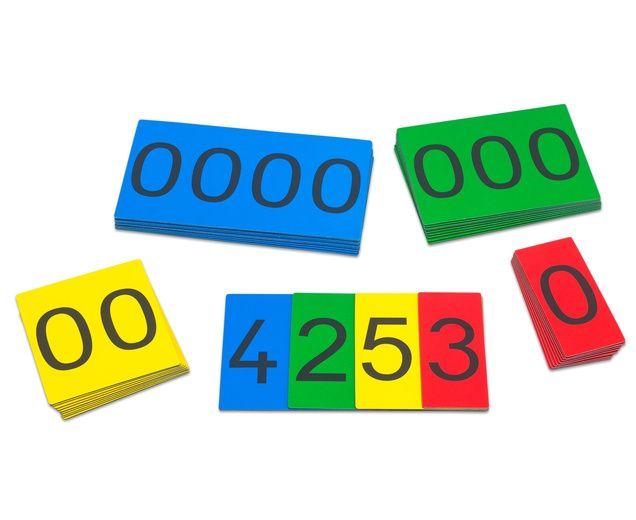 Magnetische Stellenwert-Karten - betzold.de | Mathe | Pinterest