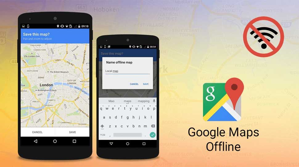 How to Use Offline Google Maps on Android and iOS ... Google Maps Android Offline on google chrome search, google maps android icon, google sync android, city maps 2go android, google docs offline android,