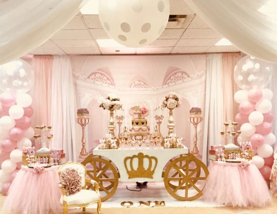 Minnie Mouse Royal Princess Birthday Minnie S Castle