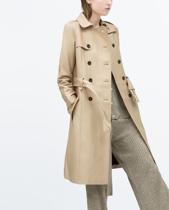 detailed look bd167 963af TRENCHCOAT from Zara $169 | Style - Winter in 2019 | Fashion ...
