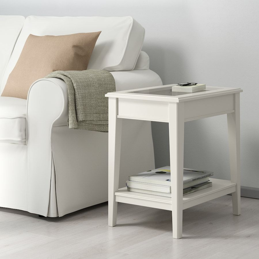 41++ Glass end tables ikea trends