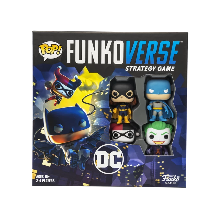 Funkoverse Vinyl Board Game Wonderwoman DC 102 2-Pack Funko POP