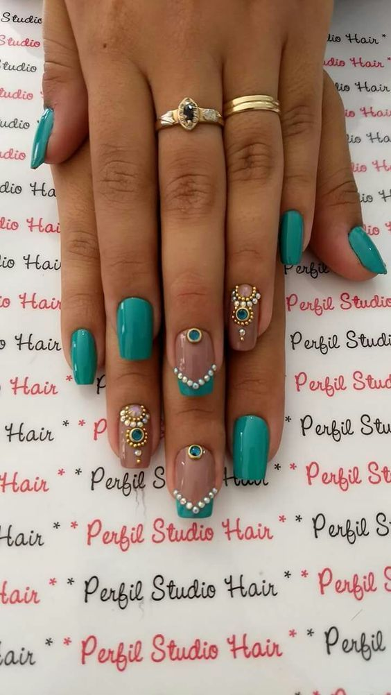 29 Amazing Nail Art Designs In Fall 2017 | Fun nails and Beauty nails