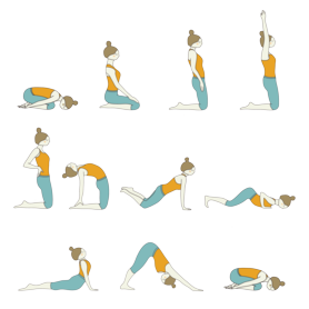 seated sun salutation stretchingforseniors