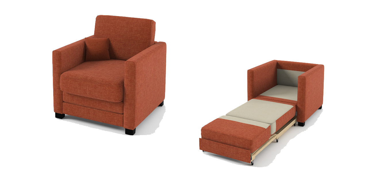 Fishing bed chair and its advantages Sofa bed orange