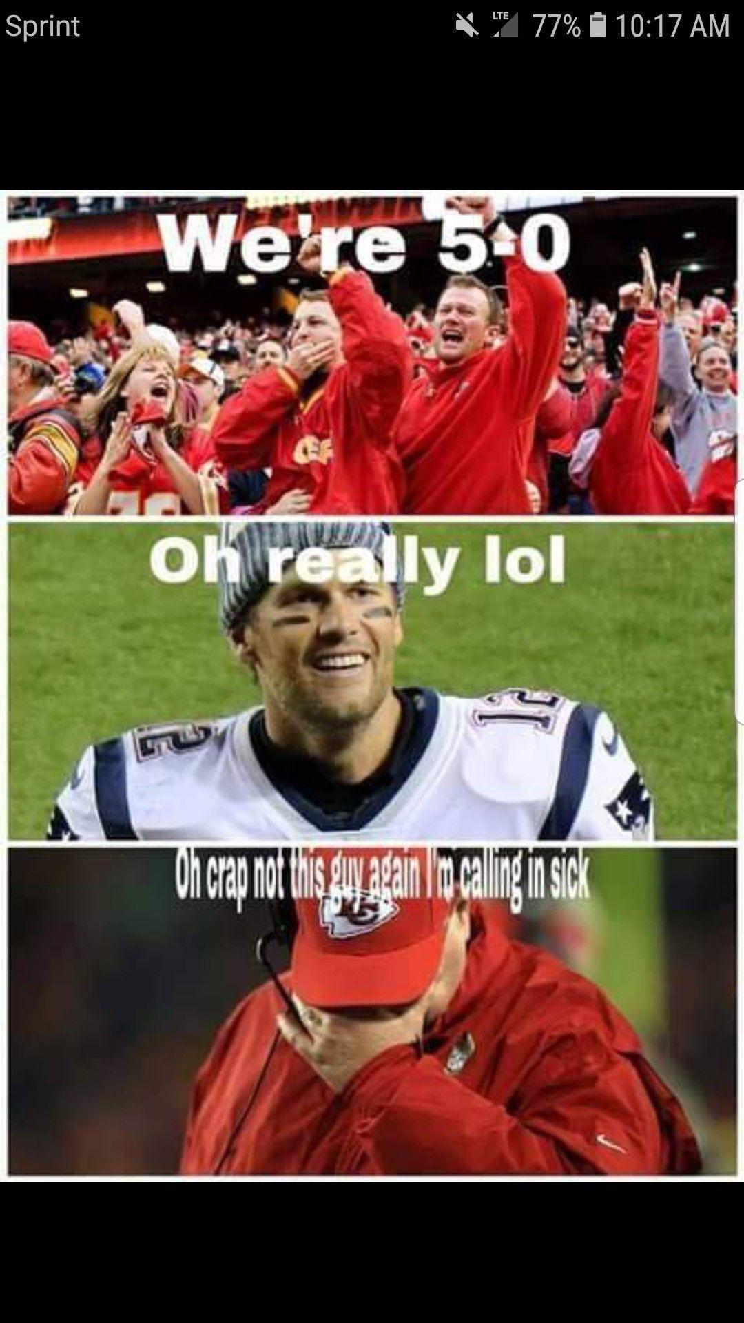 Brady Chiefs New England Patriots Football Nfl Funny Patriots Memes