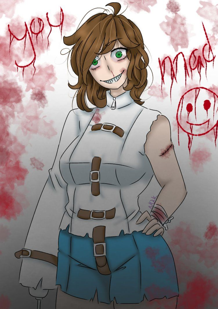 AT} Asylum Nancy by nightmarequeenkasei | creppypasta | Asylum