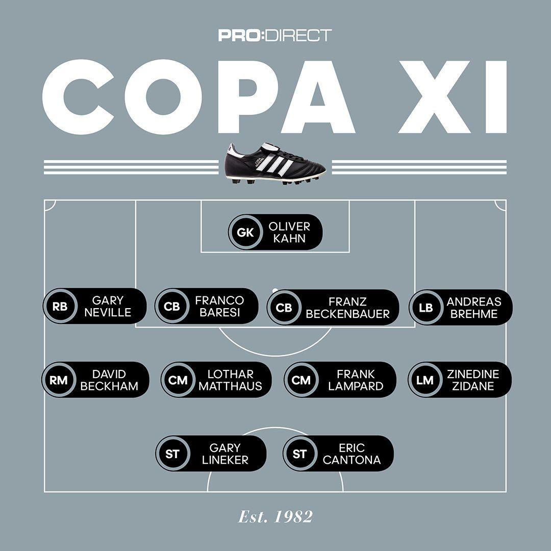 7e3e346a9b2 The Adidas Copa Mundial dream team, which includes David Beckham and ...