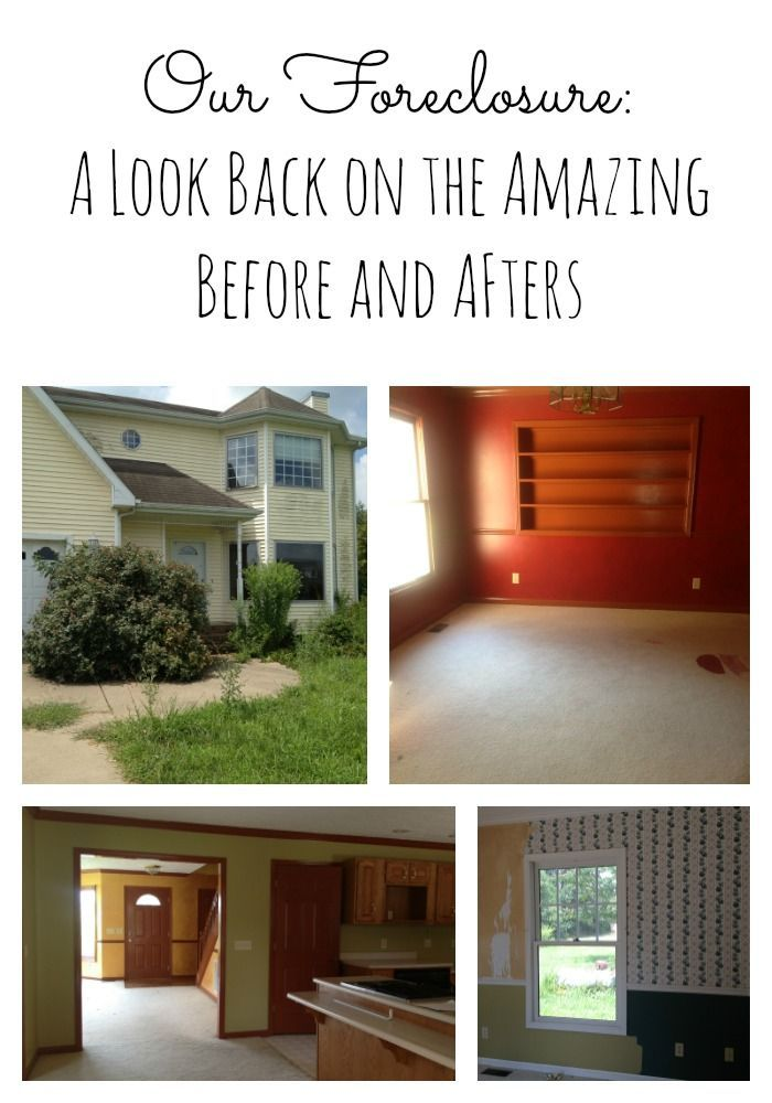 Forclosure Remodel: Our Foreclosure~A Home Tour Of The Before And Afters
