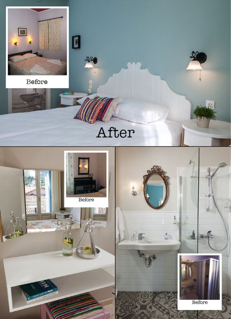 What better way then to show an interiors metamorphose