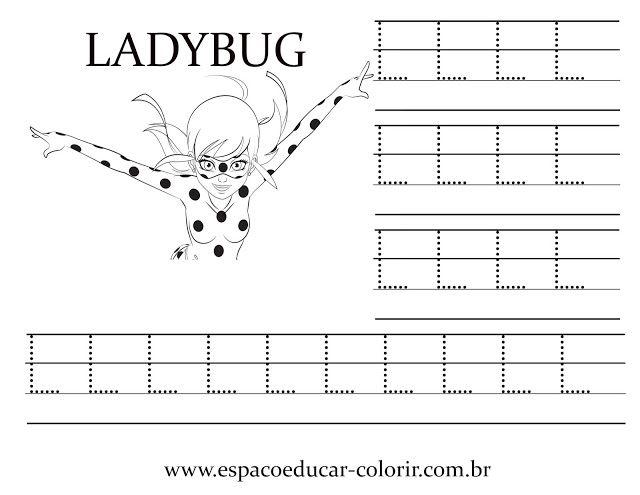 Atividades E Desenhos De Miraculous Ladybug Para Pintar Colorir